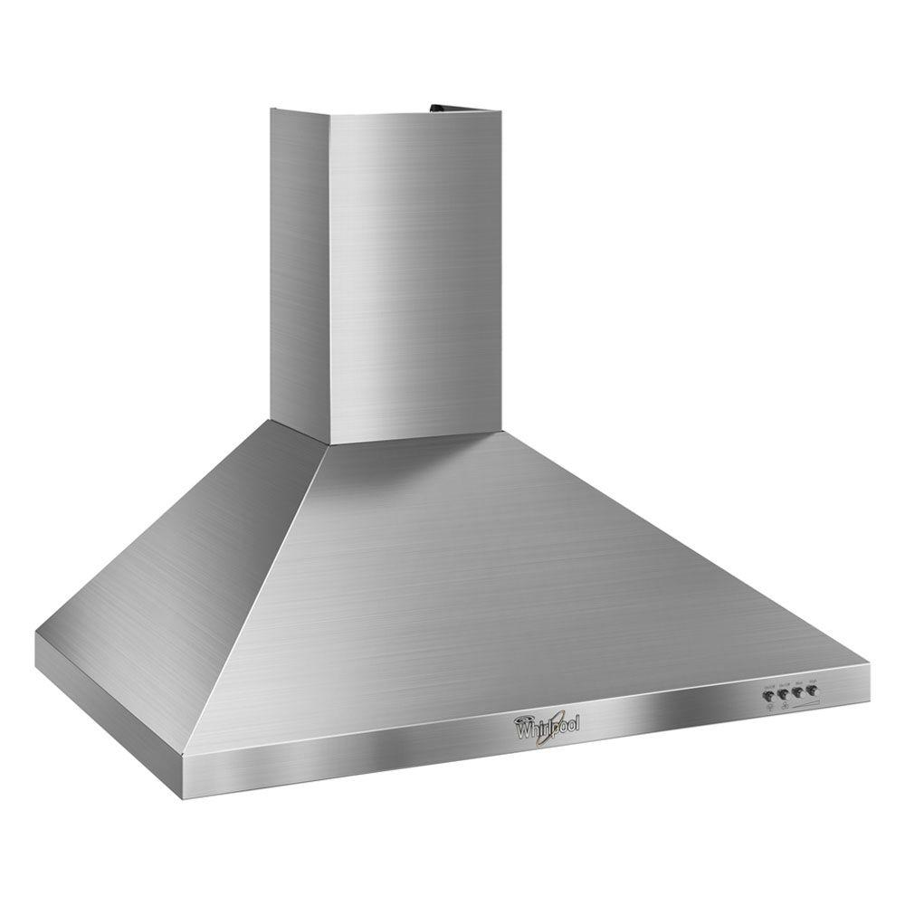 Convertible Range Hood in Stainless Steel  sc 1 st  The Home Depot & Whirlpool Gold 30 in. Convertible Range Hood in Stainless Steel ...