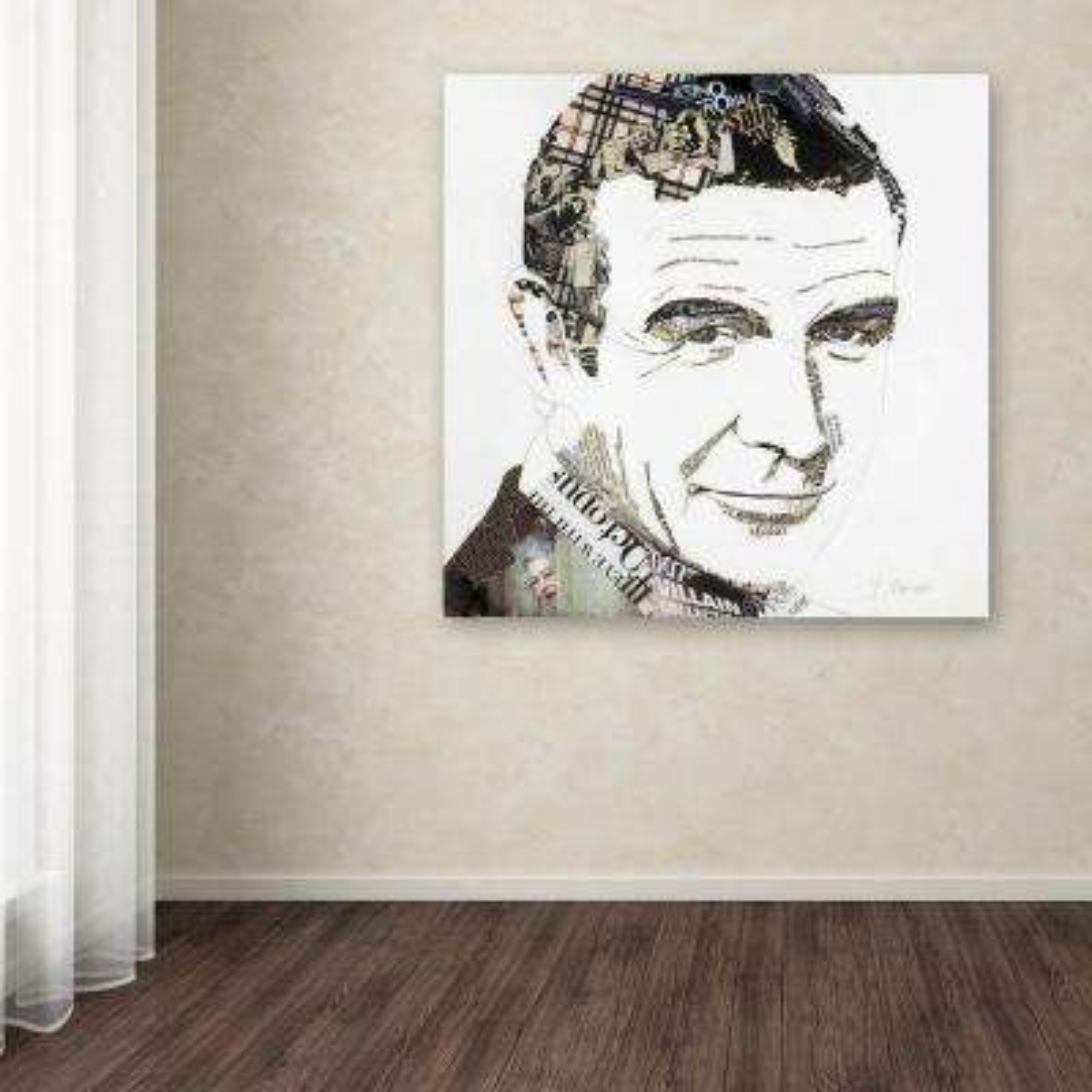 "24 in. x 24 in. ""Sean"" by Ines Kouidis Printed Canvas Wall Art"