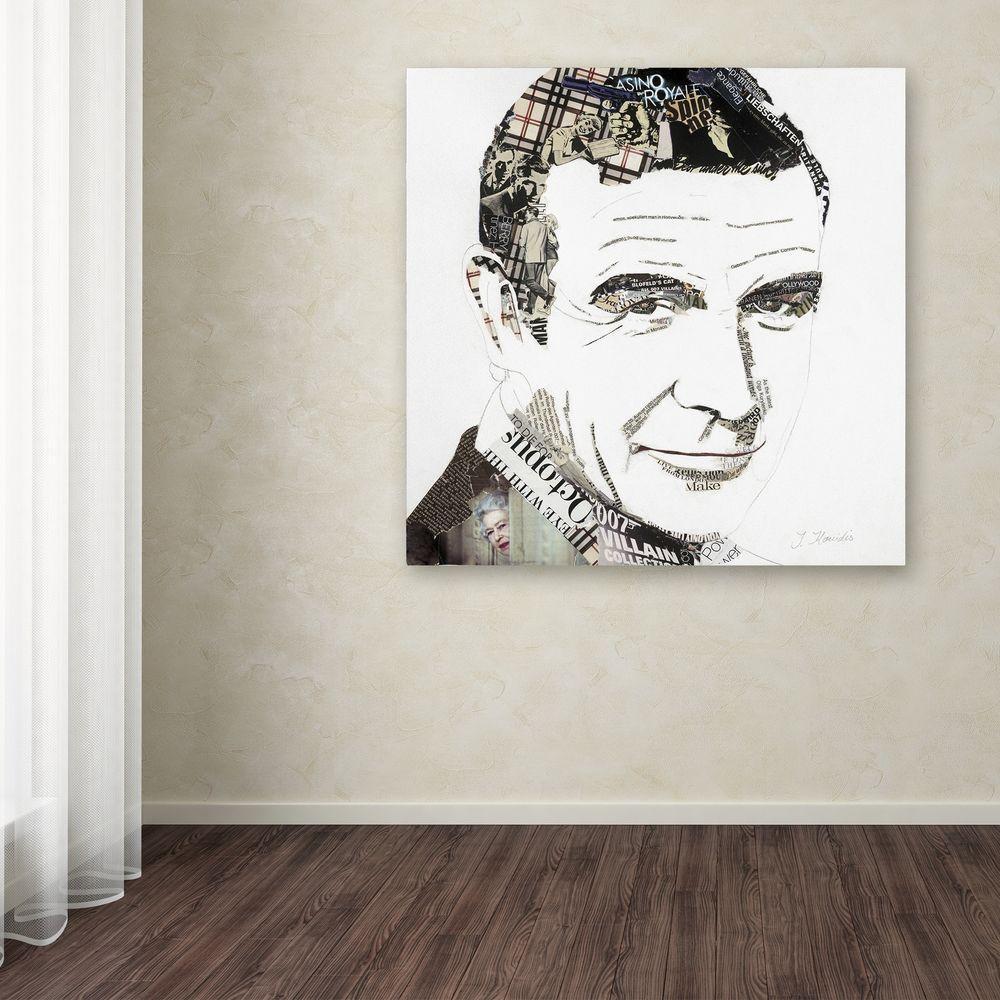 "35 in. x 35 in. ""Sean"" by Ines Kouidis Printed Canvas Wall Art"