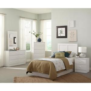 American Furniture Classics Six Piece White Bedroom set with ...