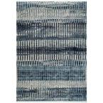 Carlee Contemporary Shaded Blue 5 ft. x 8 ft.  Area Rug
