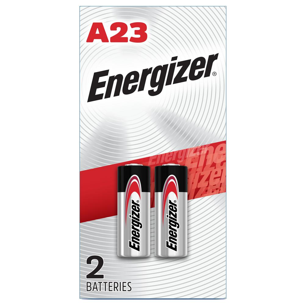Eveready A23 Batteries (2 Pack), 12V Miniature Alkaline Specialty Batteries