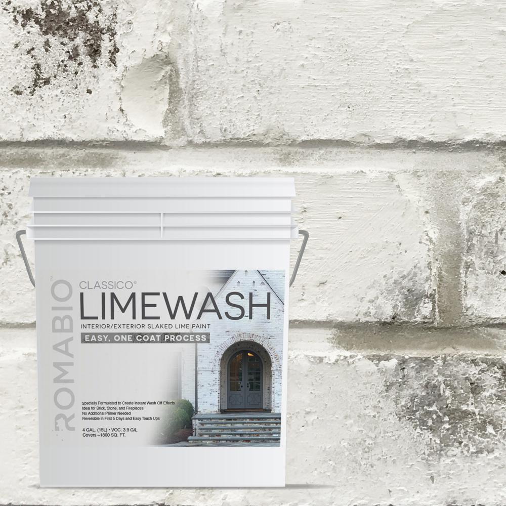 Avorio White Limewash Interior Exterior Paint