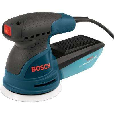 2.5 Amp 5 in Corded Single Speed Palm Random Orbital Sander/Polisher