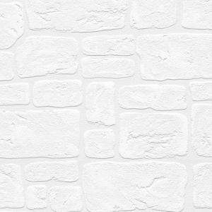 Norwall Stone Wall Paintable Wallpaper by Norwall