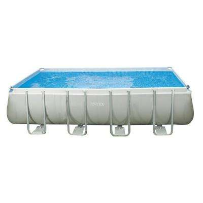 18 ft. x 9 ft. x 52 in. Rectangular Ultra Frame Pool Set