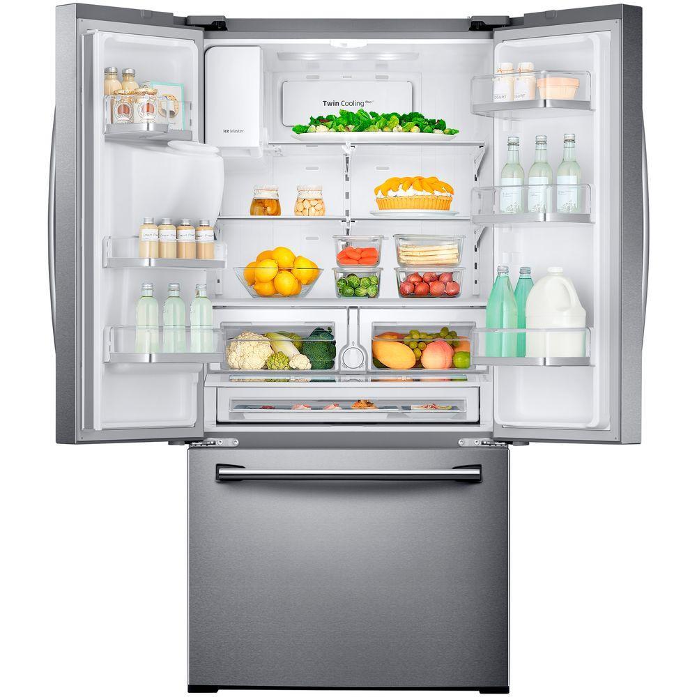 33 in w 255 cu ft french door refrigerator in stainless steel details 33 in w 255 cu ft french door refrigerator rubansaba