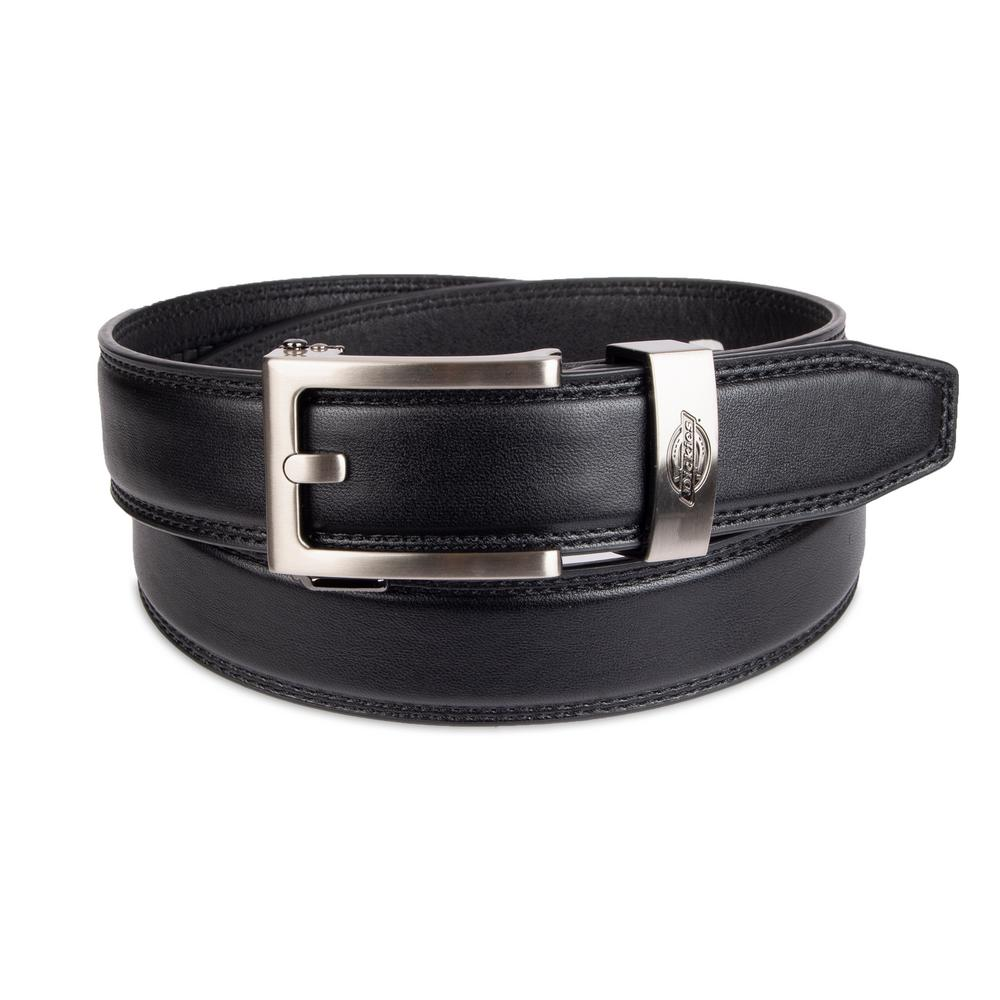 1a4b9b7e22a Dickies Men's Size XL Black Perfect Fit Adjustable Click To Fit Ratchet Belt