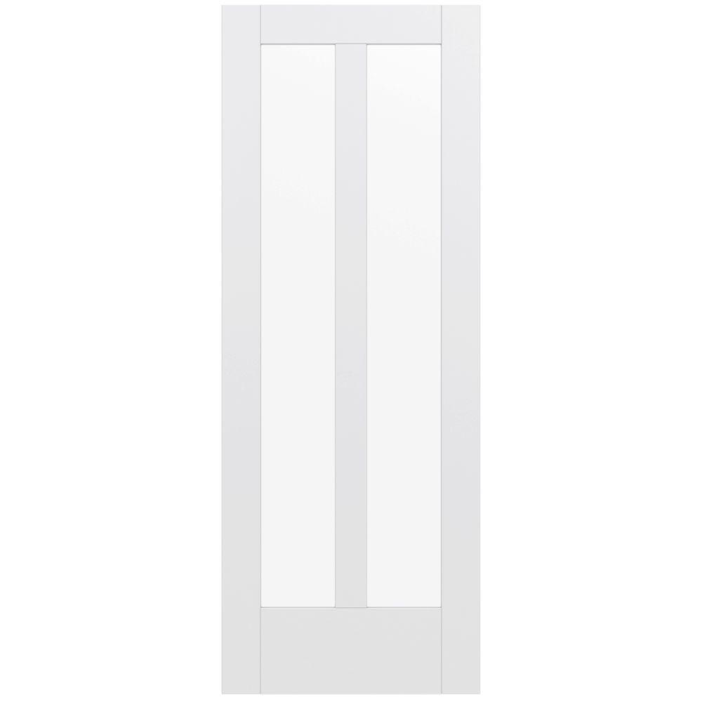 Kimberly bay 32 in x 80 in 32 in clear 6 panel solid - Home depot 6 panel interior doors ...
