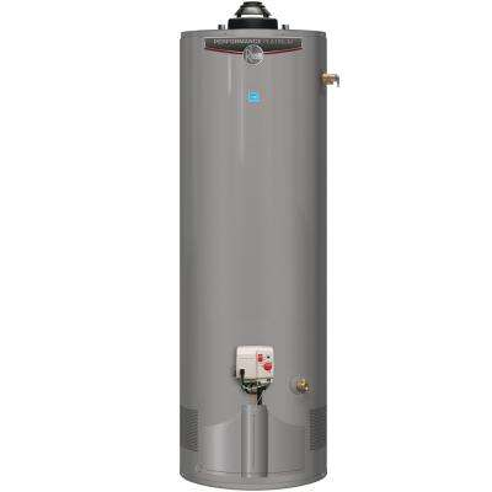 Performance Platinum 40 Gal. Tall 12-Year 38,000 BTU Ultra Low NOx (ULN) Natural Gas Power Damper Tank Water Heater