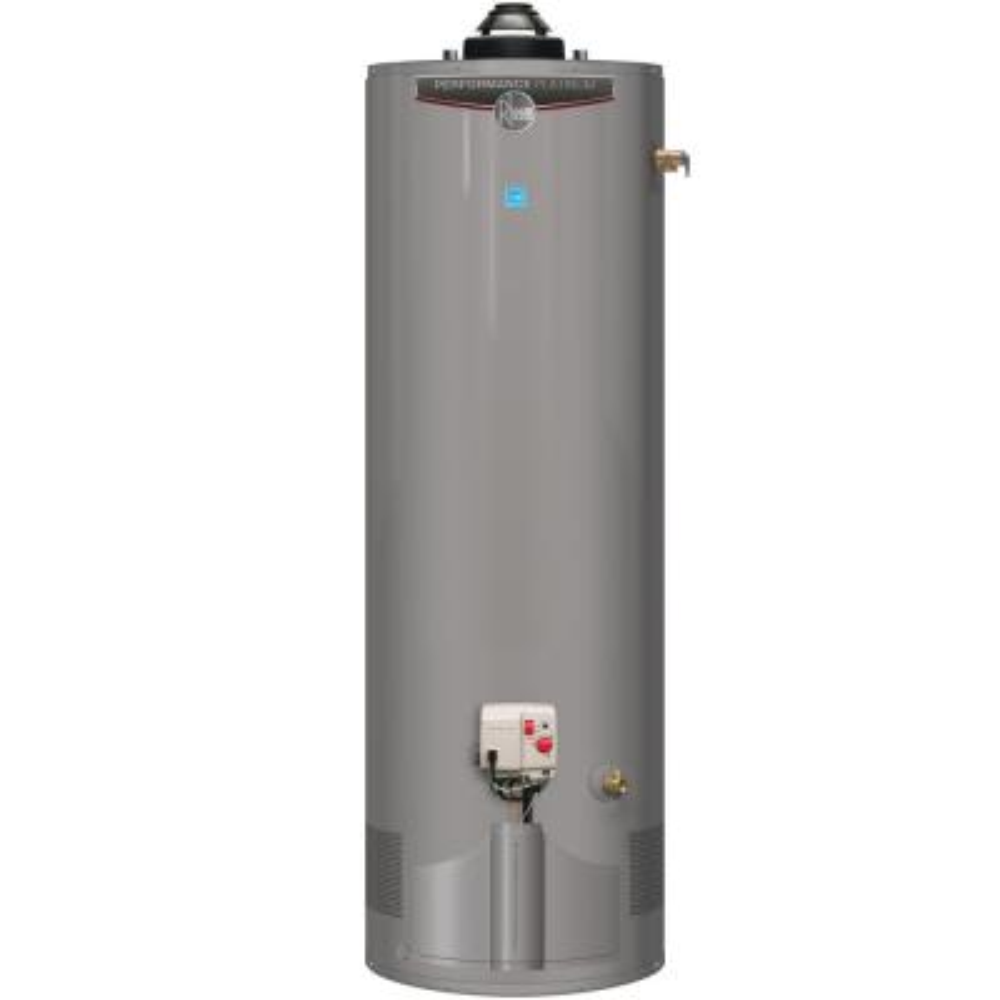 Performance Platinum 50 Gal. Tall 12-Year 38,000 BTU Ultra Low NOx (ULN) Natural Gas Power Damper Tank Water Heater