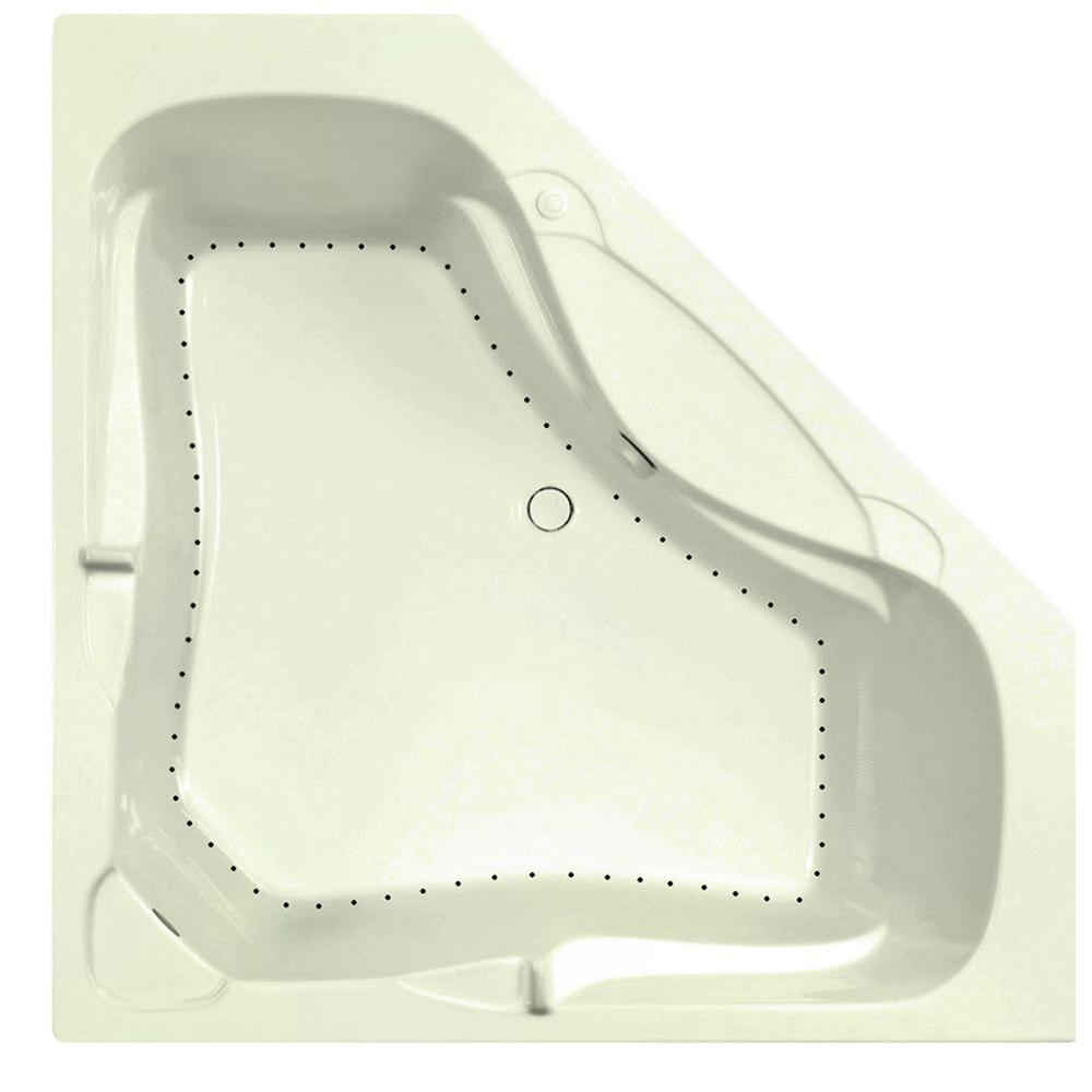 Aquatic Preakness 6 ft. Air Bath Tub in Biscuit