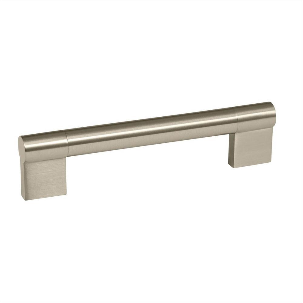 Kontur 5-1/16 in (128 mm) Center-to-Center Satin Nickel Cabinet Pull