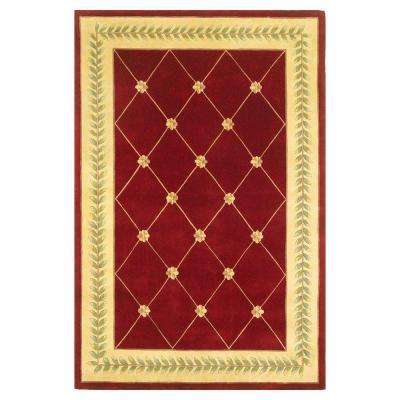 French Trellis Ruby Gold 5