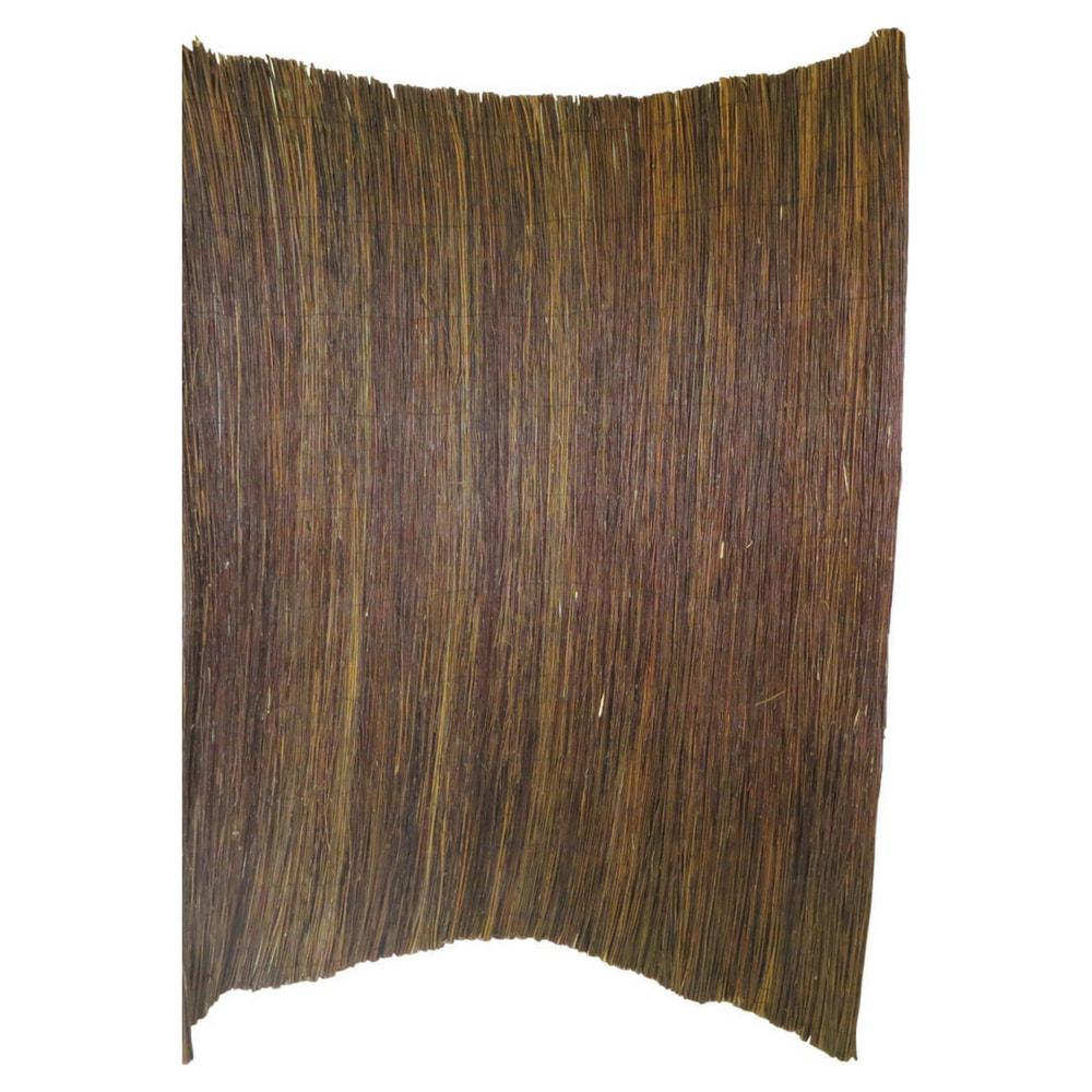 8 ft. L x 8 ft. H Willow Twig Privacy Screen