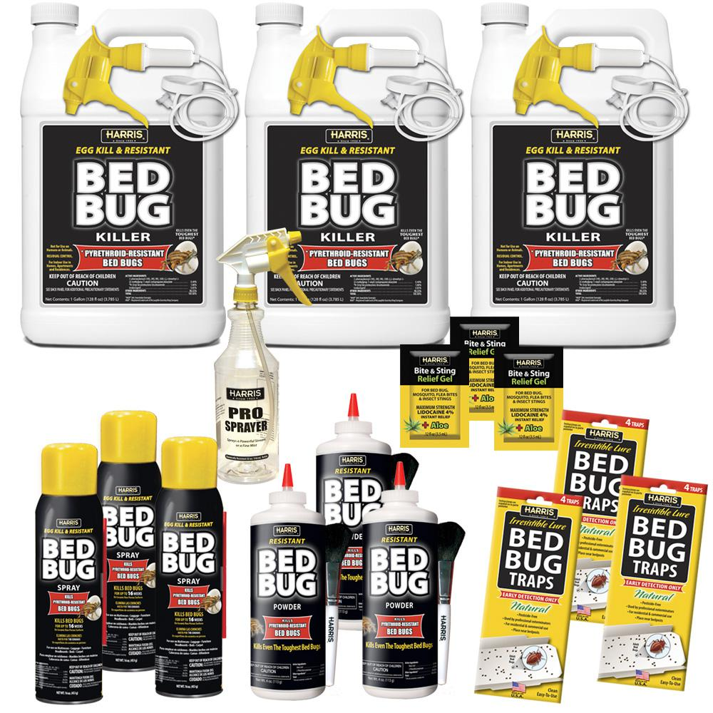 Harris Egg Kill and Resistant Bed Bug Pro Pack Kit