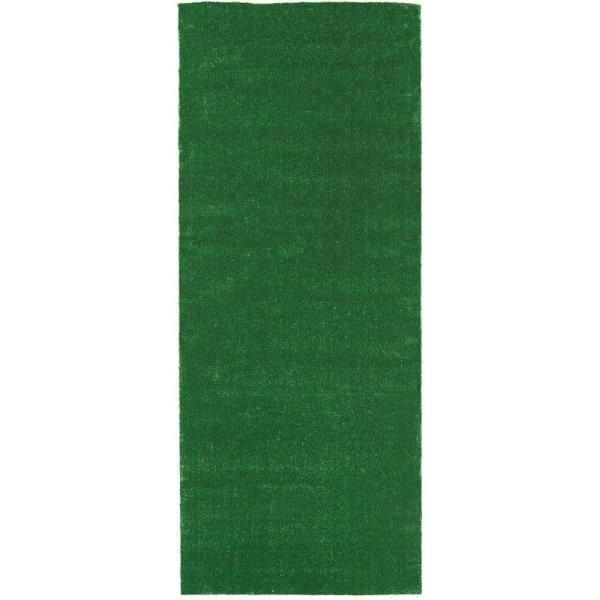 Meadowland Collection 2 ft. 7 in. x 8 ft. Artificial Grass Synthetic Lawn Turf Indoor/Outdoor Carpet