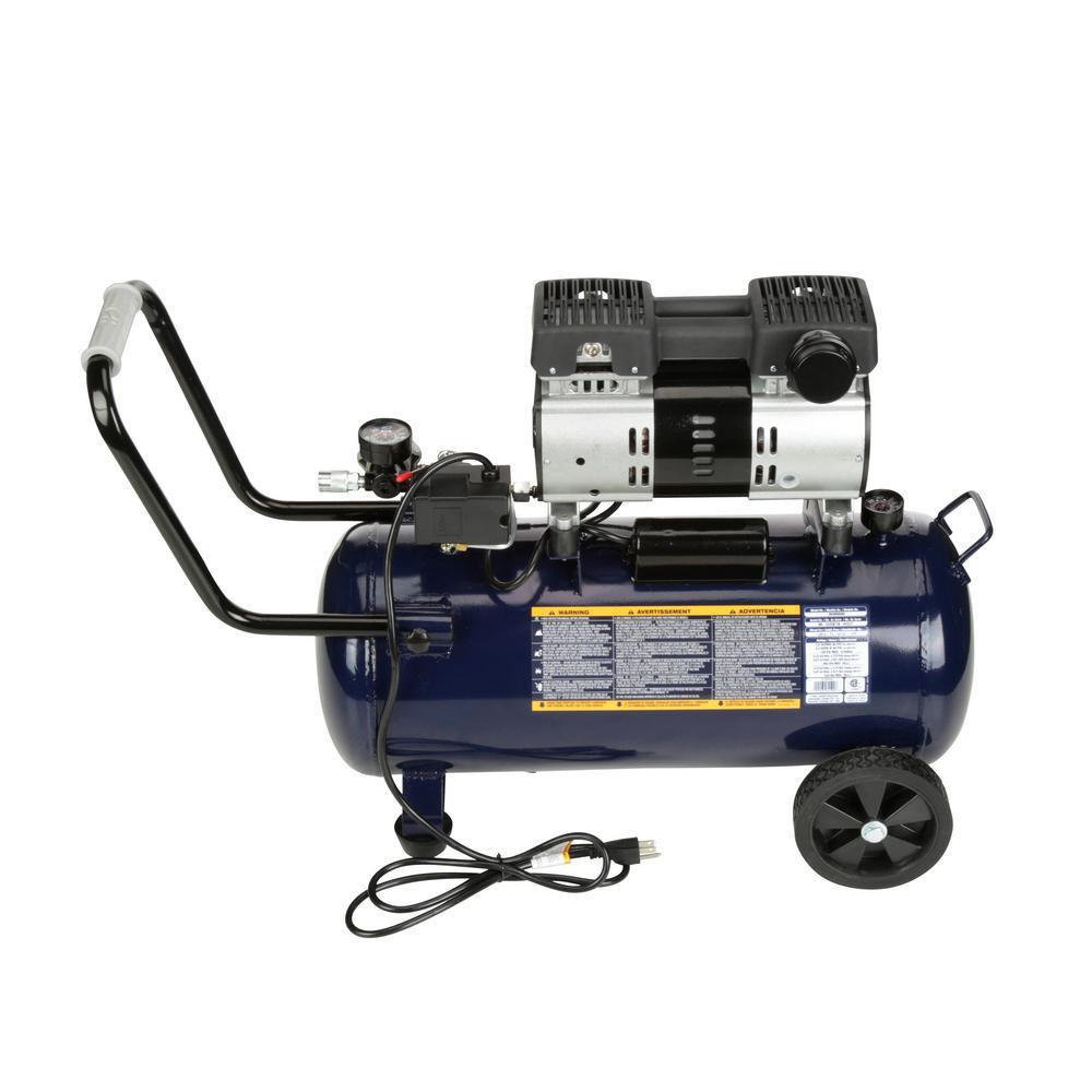 Campbell Hausfeld Portable Quiet Air Compressor 8 Gallon DC080500