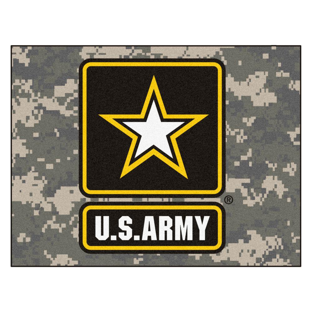 FANMATS U.S. Army 2 ft. 10 in. x 3 ft. 9 in. All-Star Rug
