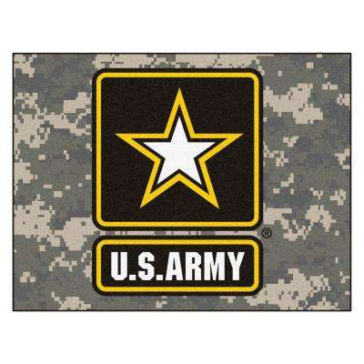 U.S. Army 3 ft. x 4 ft. All-Star Rug