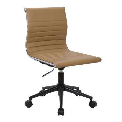 Masters Camel and Black Industrial Task Chair