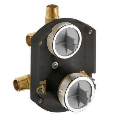 MultiChoice Universal Rough-In Kit with Integrated Diverter and Stops