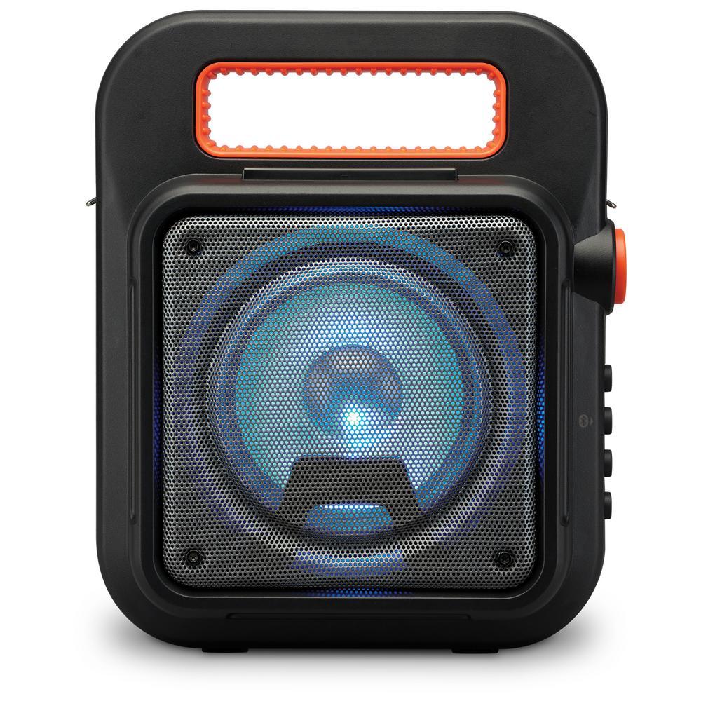 Wireless Portable Bluetooth Tailgate Speaker, Black Wireless Portable Bluetooth Tailgate Speaker, Black