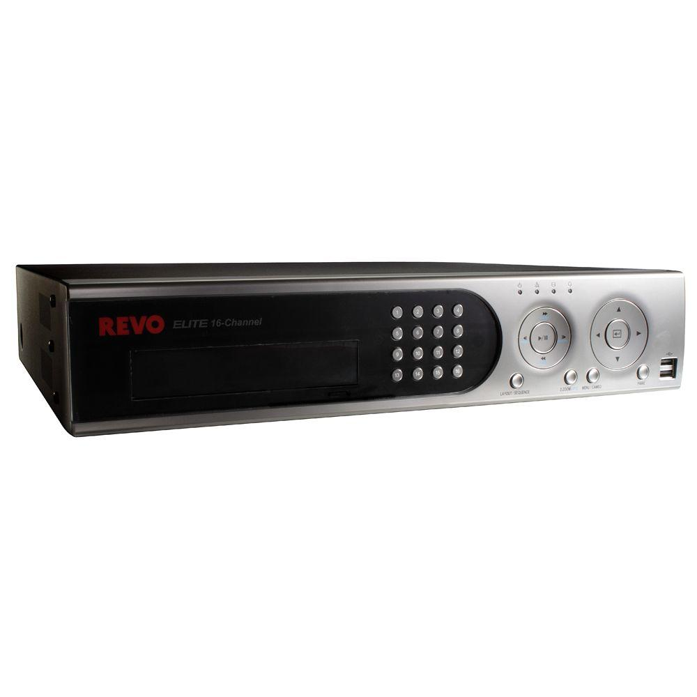 Revo 16-Channel 3 TB Hard Drive DVR with Remote Viewing-DISCONTINUED