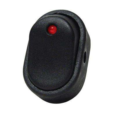 30 Amp Red LED Rocker Switch