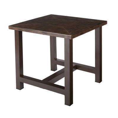 Bolingbrook Accent Metal Outdoor Patio Table