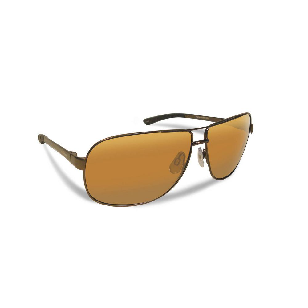 d967b7ffef Flying Fisherman Highlander Polarized Sunglasses Copper Frame with Amber  Lens