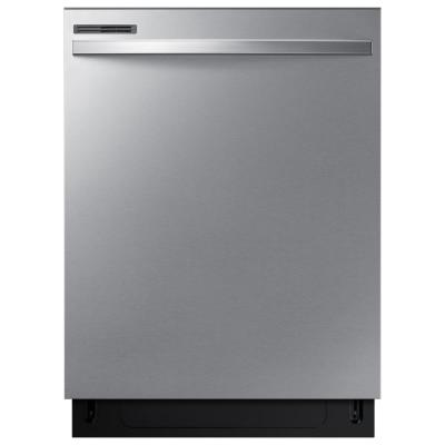 24 in. Top Control Dishwasher with Stainless Steel Interior Door and Plastic Tall Tub in Stainless Steel, 55 dBA