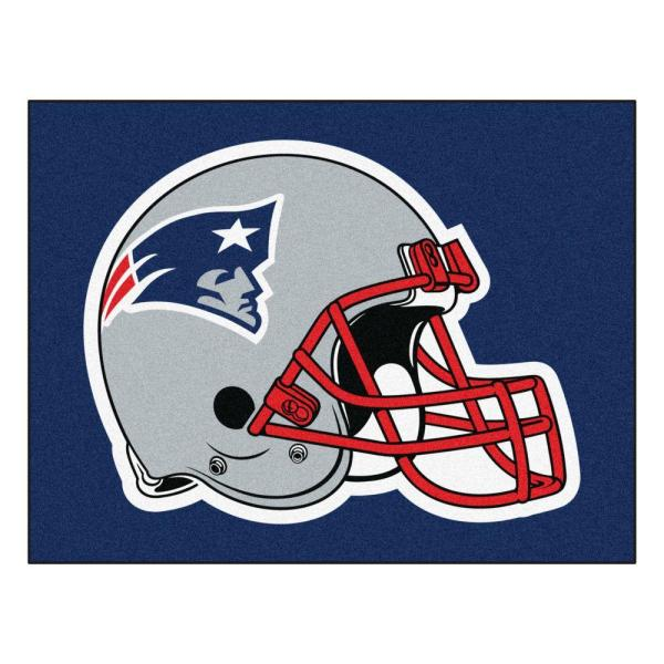 NFL New England Patriots Blue 3 ft. x 4 ft. Indoor All Star Area Rug