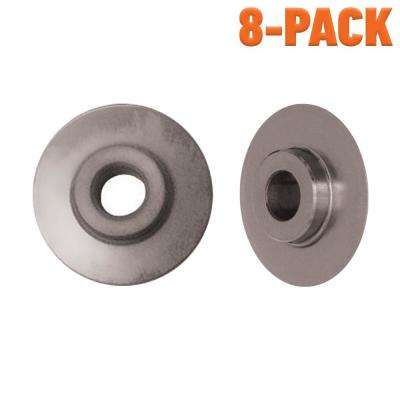 2-Piece Replacement Cutting Wheel Set for Quick Release 2-1/8 in. Tube Cutter (8-Pack)