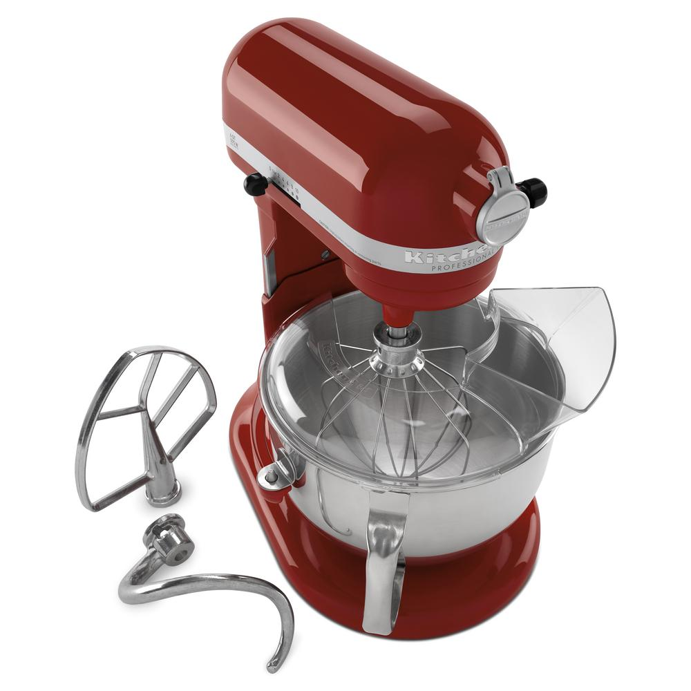 Kitchenaid Professional 600 Series 6 Qt Gloss Cinnamon Stand Mixer Kp26m1xgc The Home Depot