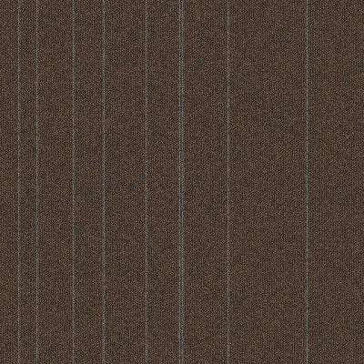 Fixed Attitude Hickory Patterned 24 in. x 24 in. Carpet Tile (24 Tiles/Case)