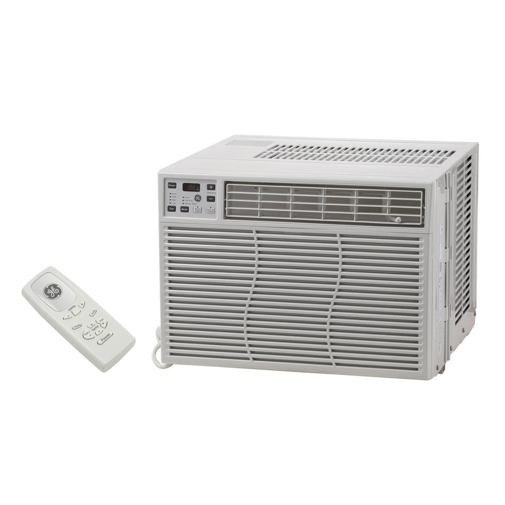 ge 6 600 btu 115 volt built in cool only thru the wall room air conditioner ajcq06lcg the home. Black Bedroom Furniture Sets. Home Design Ideas