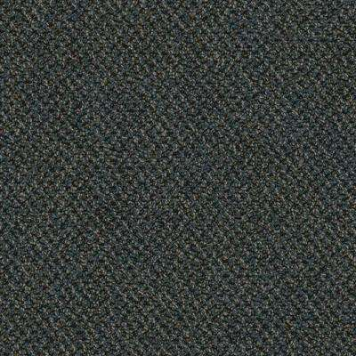 Developer Blues Loop 24 in. x 24 in. Carpet Tile Kit (18 Tiles/Case)