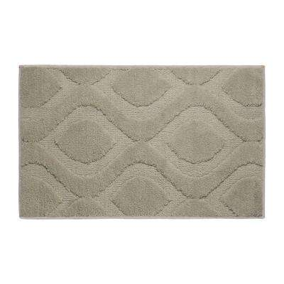 Mia Linen 21 in. x 34 in. Bath Mat