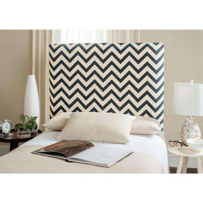 Ziggy Navy & White Twin Headboard