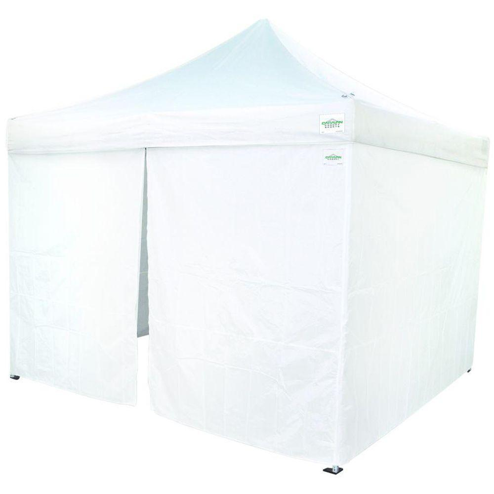 Caravan Canopy 10 ft. x 10 ft. Commercial Grade Sidewalls-11000212019 - The Home Depot  sc 1 st  The Home Depot : canopies for caravans - memphite.com