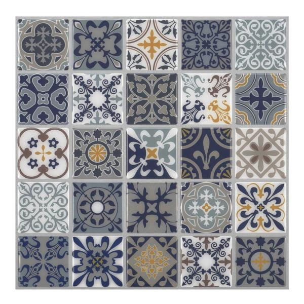 Tic Tac Tiles Moroccan Rano 10 In W X