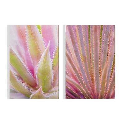 "16 in. x 24 in. ""Blushed Tropics"" Printed Wall Art"