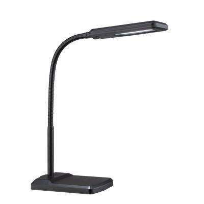 Designer Collection 16.25 in. Black Desk L& with Black Metal Shade  sc 1 st  The Home Depot & LED - Illumine - Lighting - The Home Depot azcodes.com