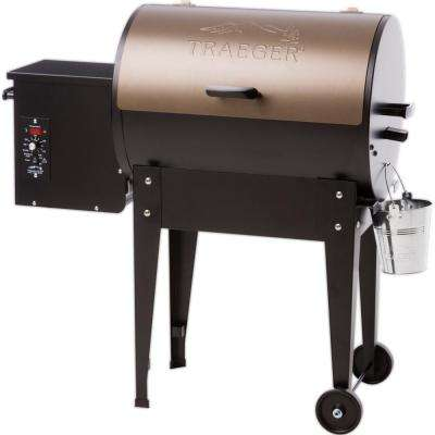 Junior Elite 20 Wood Fired Grill in Bronze