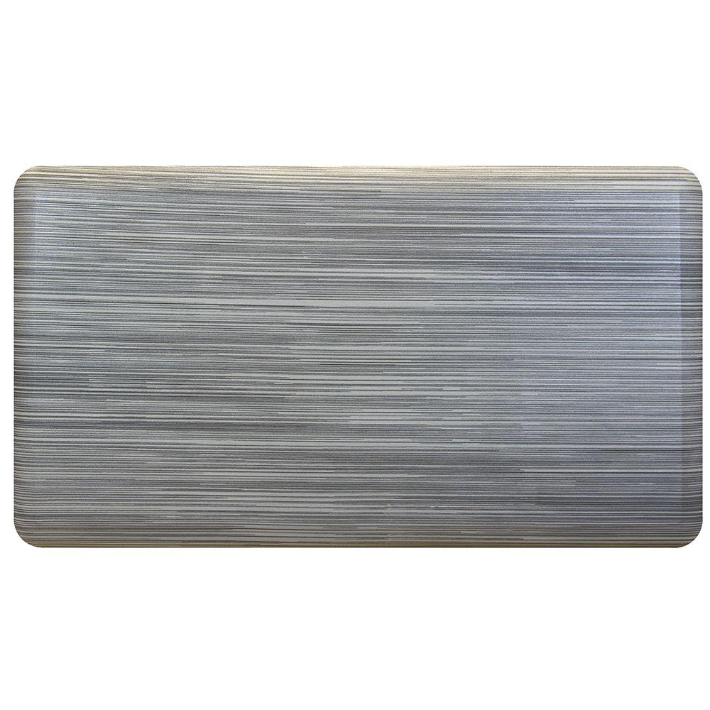 Trafficmaster 20 In X 36 In Stainless Steel Comfort Mat