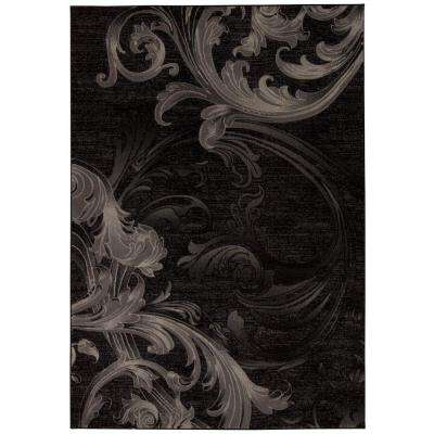 Soho Black/Grey 9 ft. x 13 ft. Area Rug