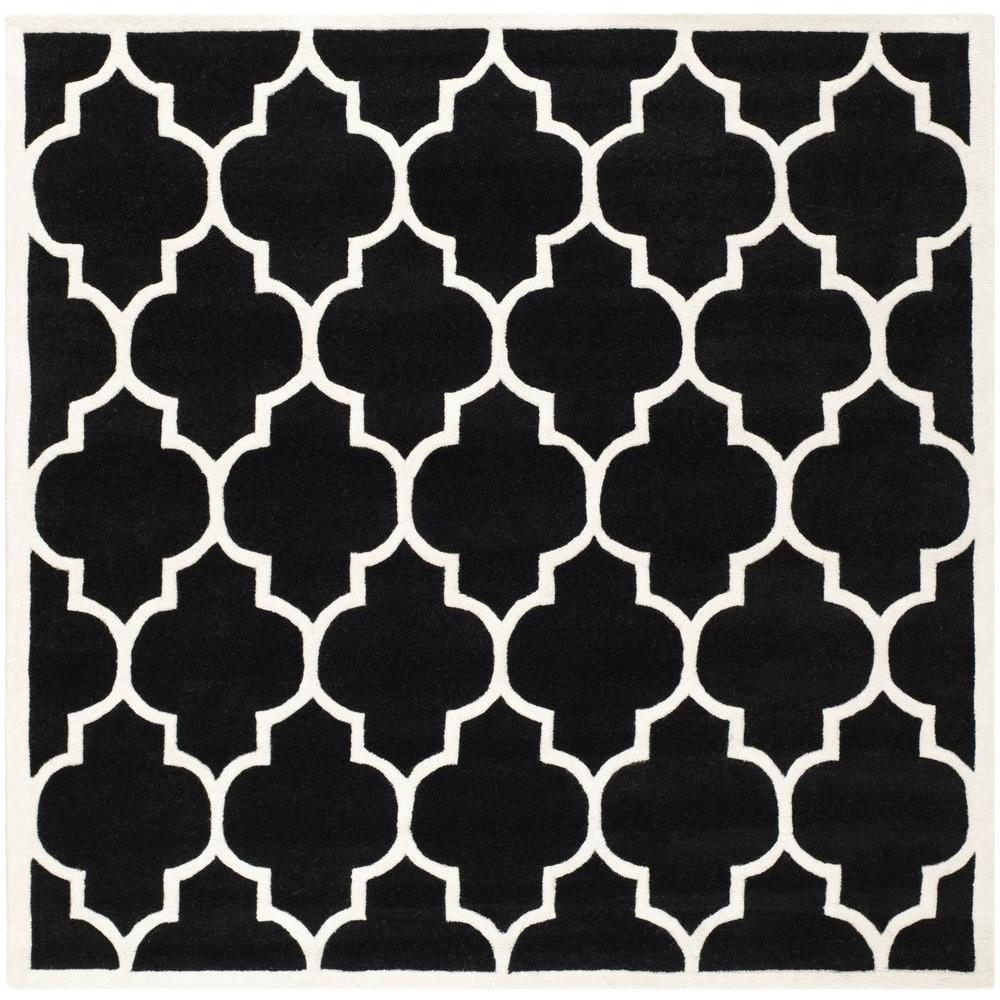 Chatham Black/Ivory 8 ft. 9 in. x 8 ft. 9 in.