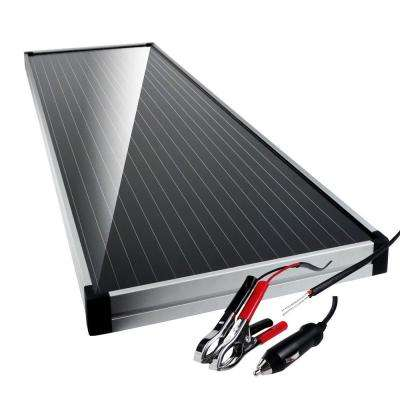 12-Volt Solar Battery Charger/Maintainer with Charge Control