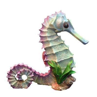 14 in. Seahorse Ocean Nautical Beach Collectible Statue